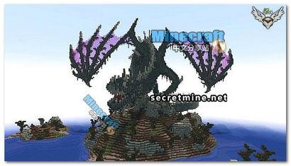 西方龙的名字-游戏名称:我的世界1.6.4大型整合包中文版-我的世界地图异界秘龙 我...