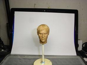 杰佣手杖play-Headplay 杰昆菲尼克斯 角斗士国王 修改后的头雕原模
