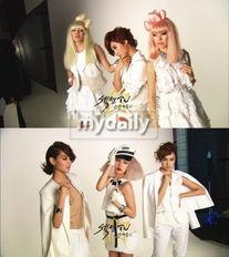 少女时代成员Yuri与秀英男装造型曝光