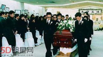 梅艳芳躺在棺材穿寿衣的样子 梅艳芳最后死去的图片曝光