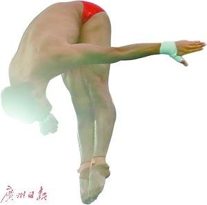 ...州首金 广州仔陈艾森男子双人十米台夺冠