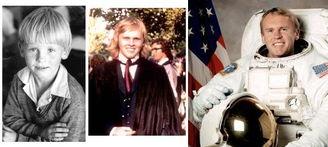 以上图片全部来自美国宇航局(NASA)网站.-发现号 7名宇航员童年...