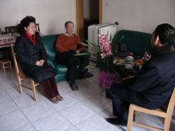 过程所领导走访慰问离退休干部和困难职工
