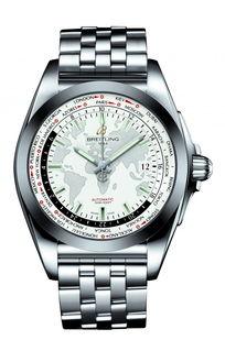 百年灵银河世界时区精制版腕表