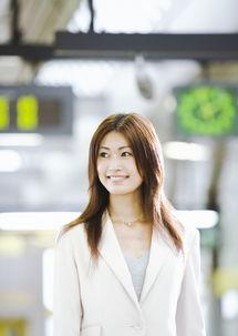 自信笑容的商务美女图片素材 图片ID 81571 商务人士 人物图片