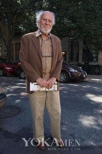 ...爷也疯狂 白发老头才是混搭高手
