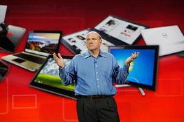 ...3日开幕.微软高管将再度登台,通过一台平板电脑展示该公司新一...