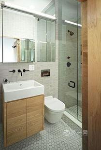 40平室中室装修案例 上下两层客厅书房一个不少
