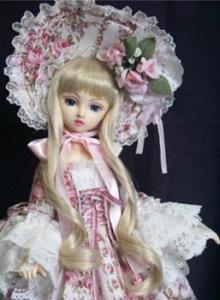 韩式立体洋娃娃妆容