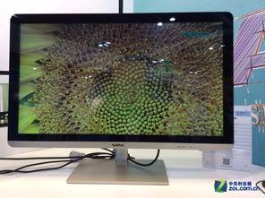 ...ANC还带来了40英寸的显示器E40,这款超大屏的显示器也是引起...