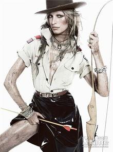零号傀师-时光网讯     卡罗莱娜·科库娃   为《Vogue》西班牙版1月号封面拍摄...