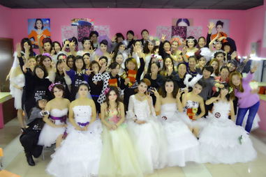 济南好莱坞化妆培训学校 学员山东彩妆作品发布