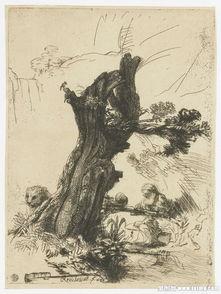 树下的老人与狮子素描图片下载 图片ID 928731 书画文字 图片素材 聚...
