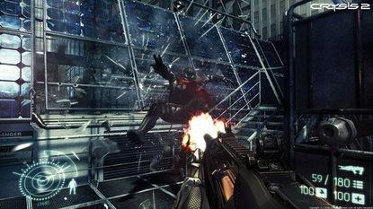 ...Crysis2游戏运行效果图