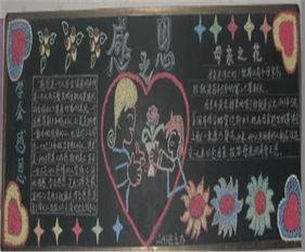 关于感恩的黑板报 感恩教育优秀演讲稿