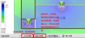 WLAN规划工具核心功能之 仿真渲染