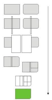 cdr中怎么使矩形的其中一个角倒棱角另一个角变圆