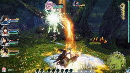 古剑奇谭2 战斗截图
