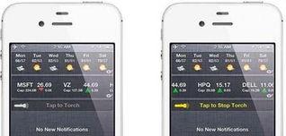 iphone4手电筒在哪 快速打开iphone手电筒功能