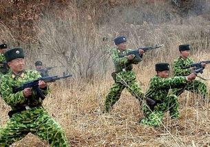 朝鲜军人训练射击-朝鲜警告在韩国外国公民避难疏散 军工股一览