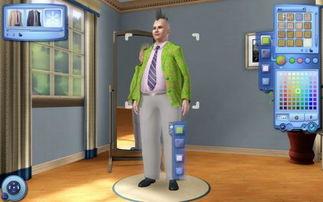 模拟人生3 新玩法与中文画面曝光