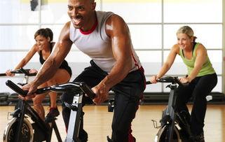 动态图尴尬自行车-动感单车-练出好身材 健身房里哪些器械最 甩肉