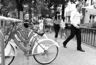 北京公租自行车遇四重尴尬 旧交通卡不识别