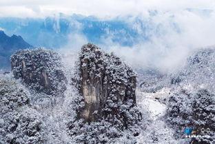 后来的雪-近日来,随着全国性降温天气来临,恩施大峡谷迎来新年后的第一场雪...