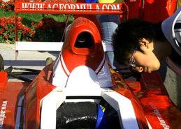 ...文化节 AGF赛车受热捧