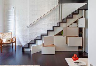 节省空间楼梯设计时尚创意家居装修效果图