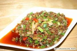 牛肉末炒芹菜