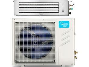 美的KFR 72T2W BP2DN1 TR 3匹超薄变频风管机 中央空调 带电辅热 ...