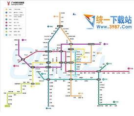 2017最新广州地铁线路图 2017广州地铁高清线路图 最新版 免费下载 ...