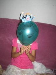 气球上画画