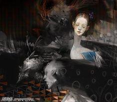惧Ky-日本插画师Kei Kobayashi另类插画欣赏本帖最后由 异想天开于 2008-4...