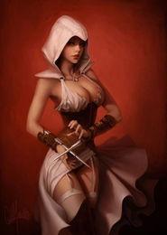 刺客信条 性感女刺客艺术图完整页