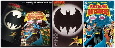 蝙蝠侠大战忍者神龟片尾漫画期刊与所致敬原版对照录