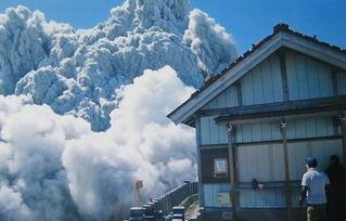 男子遇难前拍下火山喷发场面 手机新浪网