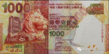 1000港元-《千元港币》 石村块布面油画 130 x 262 厘米 2016 年 香港 AIA 总部马...
