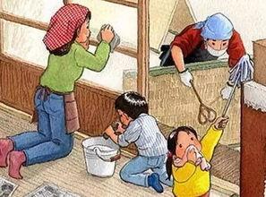 开始   清扫浮尘,擦拭家具,打理庭院   窗明几净的背后   是家的温馨   ...