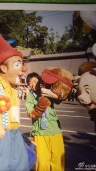 ...晒早年青涩照 16年前就扮过猴