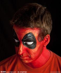 鬼脸 艺术 彩绘 脸 非主流 恐怖图片