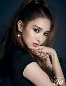 首次上榜 排名48   金珍熙,1989年出生,韩国女子演唱组合Fiestar成...