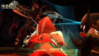惊鸿一瞥 龙之谷红龙巢穴红衣神秘女子