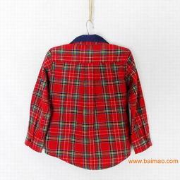 ...新款 官网同步法国j家男童翻领格子衬衫,2013春装新款 官网同步法...
