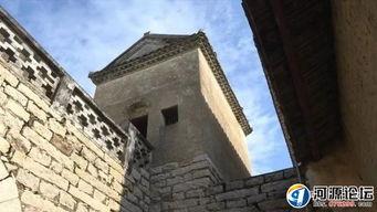藏仙楼-从仙坑村村委会出发,漫步走过阡陌纵横的乡村田野,不远处的古建筑...