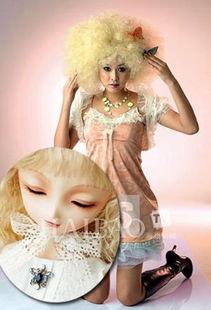 SD娃娃造型PK明星娃娃妆