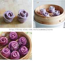 佬   027eat.com温馨提示:   1 融化酵母的水不要太多,因为还要放紫...