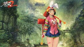 女神萌妹 苍天2 新春壁纸提前拜年