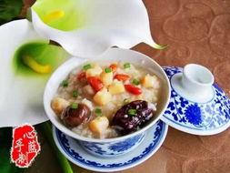 www.027EAT.com菜谱网向您介绍做枸杞瑶柱双米粥需要的材料,为您...